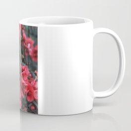 Crimson Blossoms Coffee Mug
