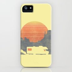 Trail of the dusty road Slim Case iPhone SE
