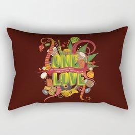 Rhapsody Of Reggae Rectangular Pillow