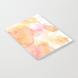 Pastel Watercolor Painting Notebook