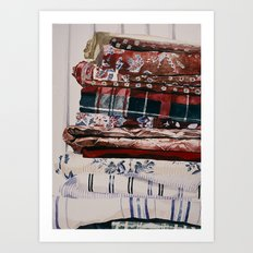 Linens Art Print