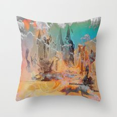 The Oz, By Sherri Of Palm Springs Throw Pillow