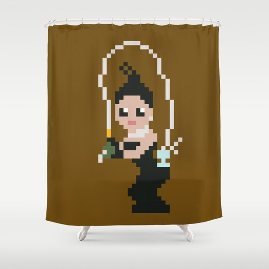 Kim K breaking the internet  Shower Curtain