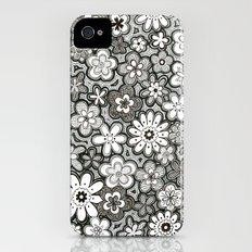 Flower Frenzy iPhone (4, 4s) Slim Case