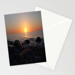 Sunrise on Langeland Stationery Cards