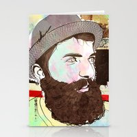 hipster Stationery Cards featuring Hipster by jnk2007