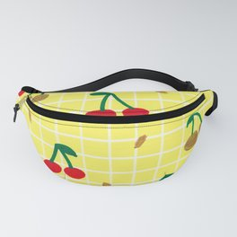 Cherries pattern Fanny Pack