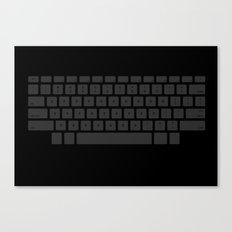 Captain's Keyboard Canvas Print