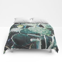 Wild cactus Comforters