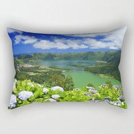Crater lakes Rectangular Pillow