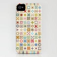 Jane's Addiction to Quilting iPhone (4, 4s) Slim Case