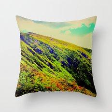 Mountainica Throw Pillow