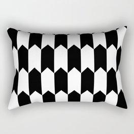 BW Tessellation 4 5 Rectangular Pillow