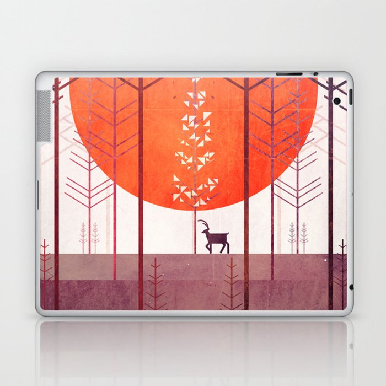 Silent Forest Laptop & iPad Skin