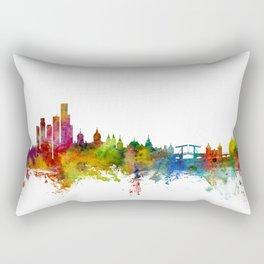 Amsterdam The Netherlands Skyline Rectangular Pillow