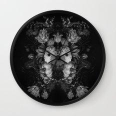 Botanical Darkness Wall Clock