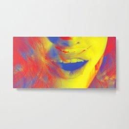 Linda Scott's Primary Colors Metal Print