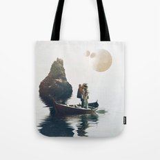 Searching Land Tote Bag