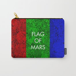 THE FLAG OF MARS Carry-All Pouch