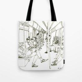 Late Night Subway Rides, NYC Tote Bag