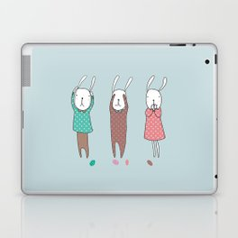 Three Wise Bunnes Laptop & iPad Skin
