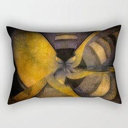 escape the hive Rectangular Pillow