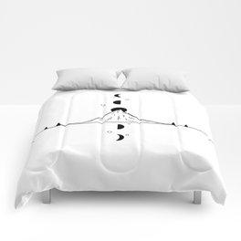 Phases de la lune 1 Comforters