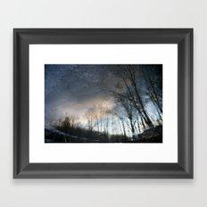Underworld Wave Framed Art Print