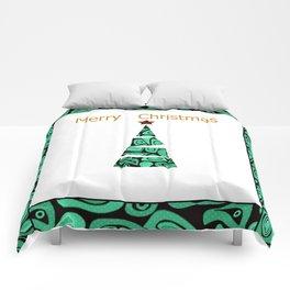 merry Christmas . Comforters