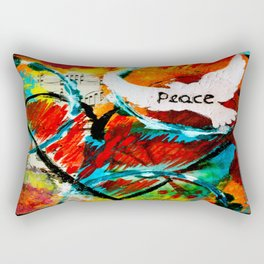 Flight of Love and Music Rectangular Pillow