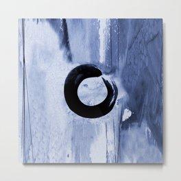 Enso Zen Circle No.6k by Kathy Morton Stanion Metal Print