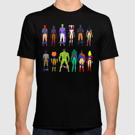 Superhero Butts - Power Couple T-shirt