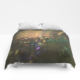 Golden splash Comforters