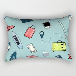 Travel more Rectangular Pillow