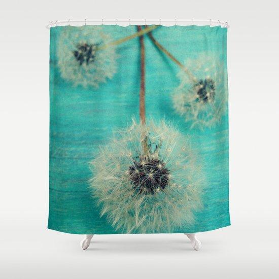 Three Wishes Shower Curtain