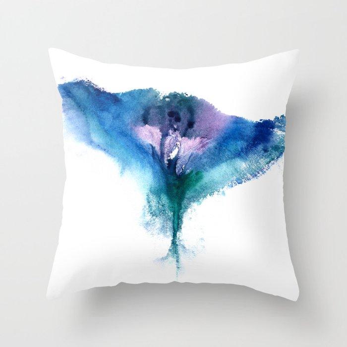 Isabella's Vulva Flower Throw Pillow