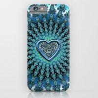 Celtic Heart Knot Fractal Mandala Slim Case iPhone 6s