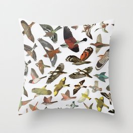 Bird, Birds, Birds Throw Pillow
