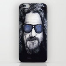 The Dude Lebowski iPhone & iPod Skin