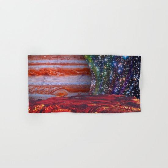 Looking At Jupiter Hand & Bath Towel