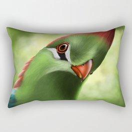 Fischer's Turaco Rectangular Pillow