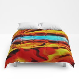 Fire and Ice Comforters