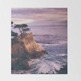 Carmel California Throw Blanket
