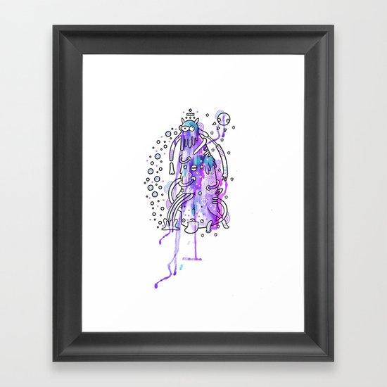 Squishy Framed Art Print