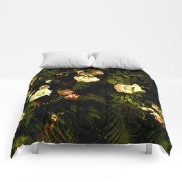 Floral Night III Comforters