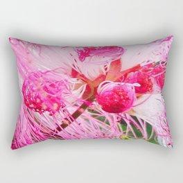 Cotton Candy Bloom Rectangular Pillow