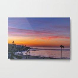 Dawn Over Corona Del Mar Metal Print