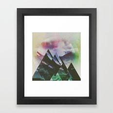 Fractions B09 Framed Art Print