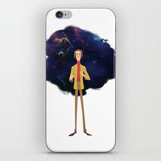 Carl Sagan iPhone & iPod Skin
