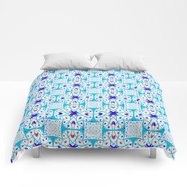 Intricate geometric pattern Comforters